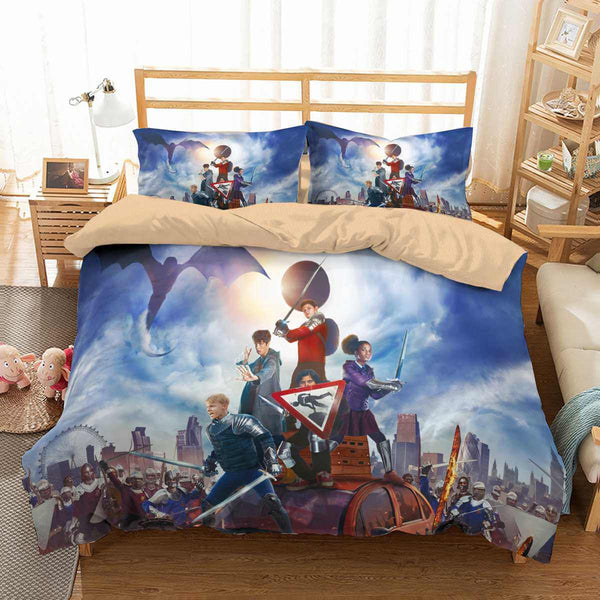 3D Customize The Kid Who Would Be King Bedding Set Duvet Cover Set Bedroom Set Bedlinen