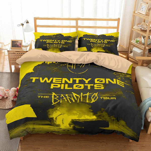 3D Customize Twenty One Pilots Trench Bedding Set Duvet Cover Set Bedroom Set Bedlinen