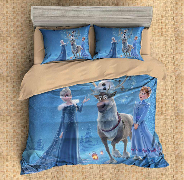 3D Customize Frozen Bedding Set Duvet Cover Set Bedroom Set Bedlinen