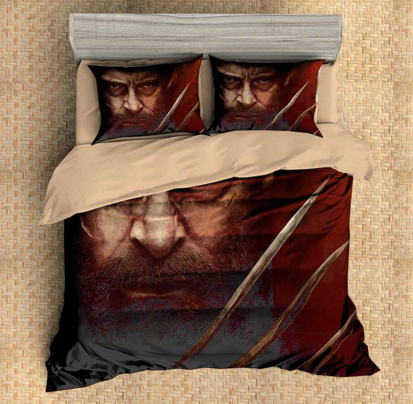 3D Customize Logan Bedding Set Duvet Cover Set Bedroom Set Bedlinen