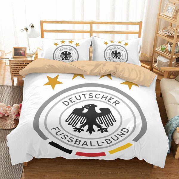 3D Customize FIFA World Cup Russia 2018 Germany Bedding Set Duvet Cover Set Bedroom Set Bedlinen
