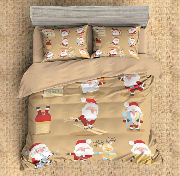3D Customize Christmas Bedding Set Duvet Cover Set Bedroom Set Bedlinen