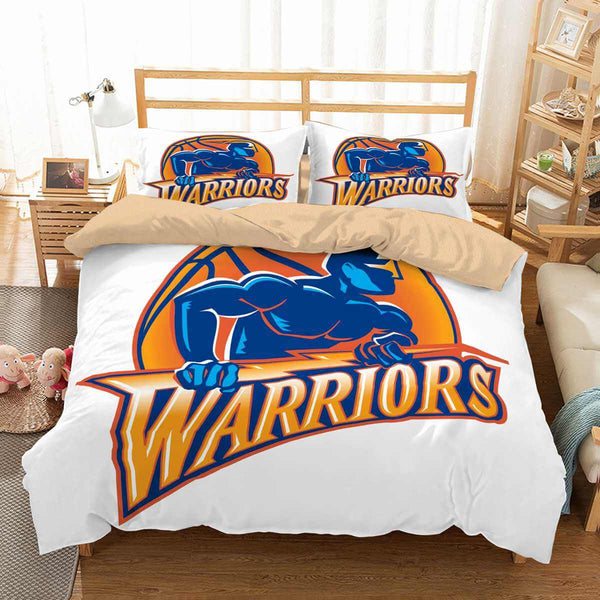 3D Customize Golden State Warriors Bedding Set Duvet Cover Set Bedroom Set Bedlinen