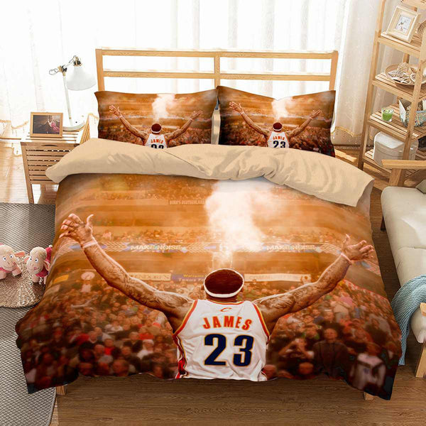 3D Customize LeBron James Bedding Set Duvet Cover Set Bedroom Set Bedlinen