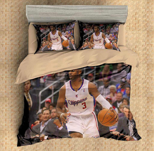 3D Customize Chris Paul Bedding Set Duvet Cover Set Bedroom Set Bedlinen - Three Lemons Hometextile