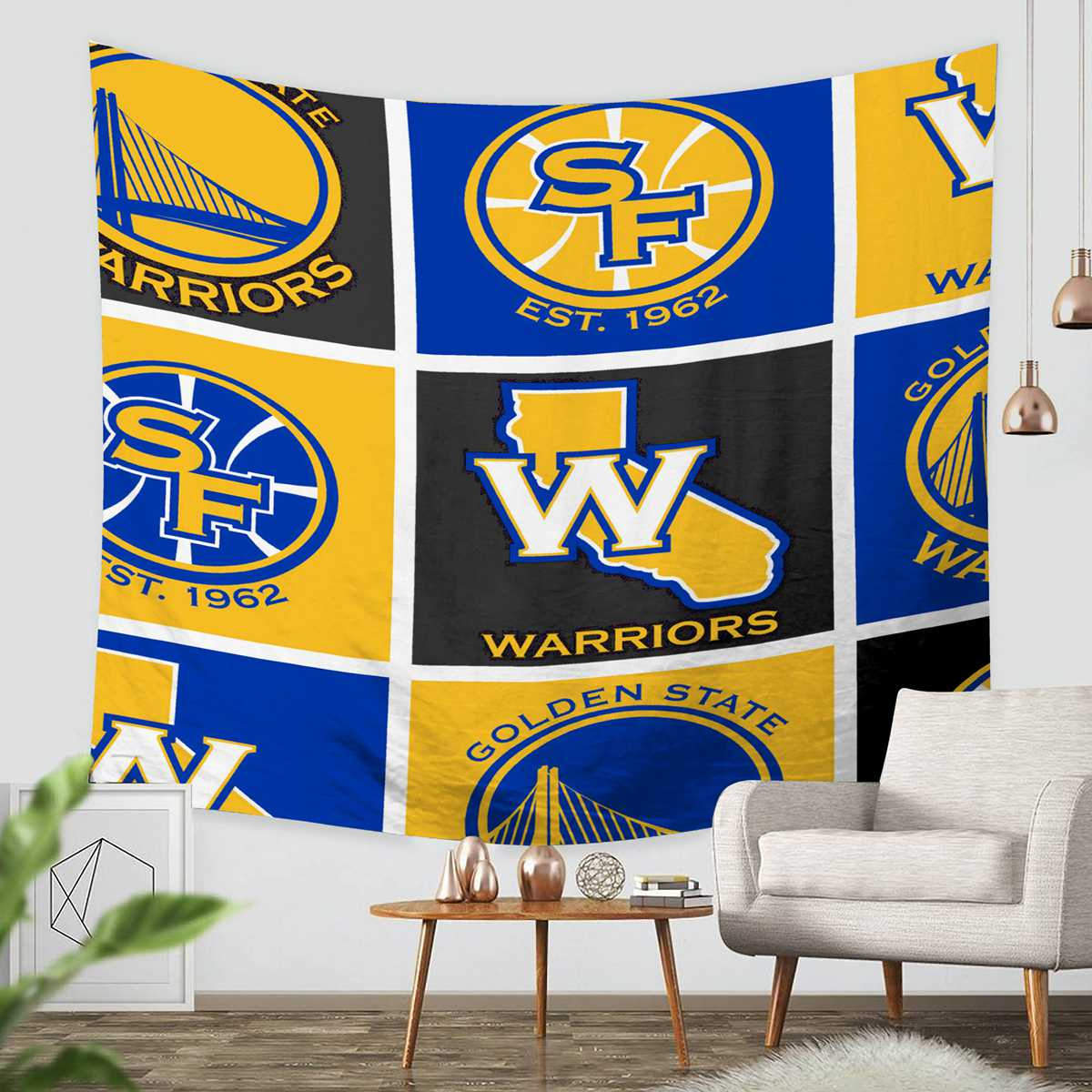 Funky Golden State Warriors Wall Decor Motif - Wall Painting Ideas ...