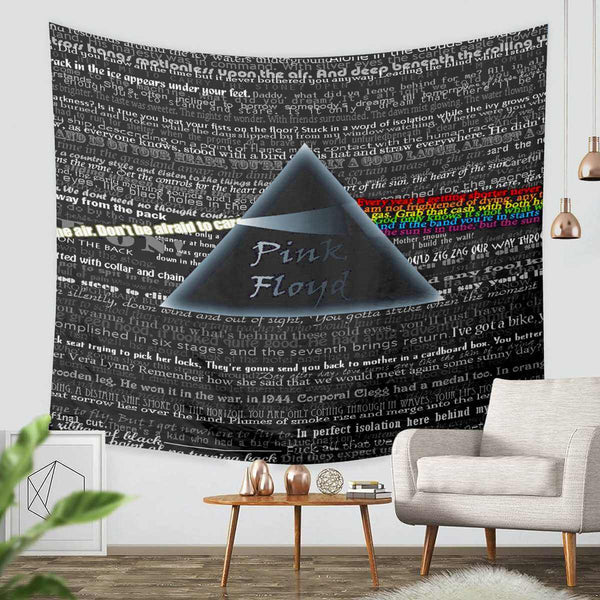 3D Custom Pink Floyd Tapestry Throw Wall Hanging Bedspread - Three Lemons Hometextile