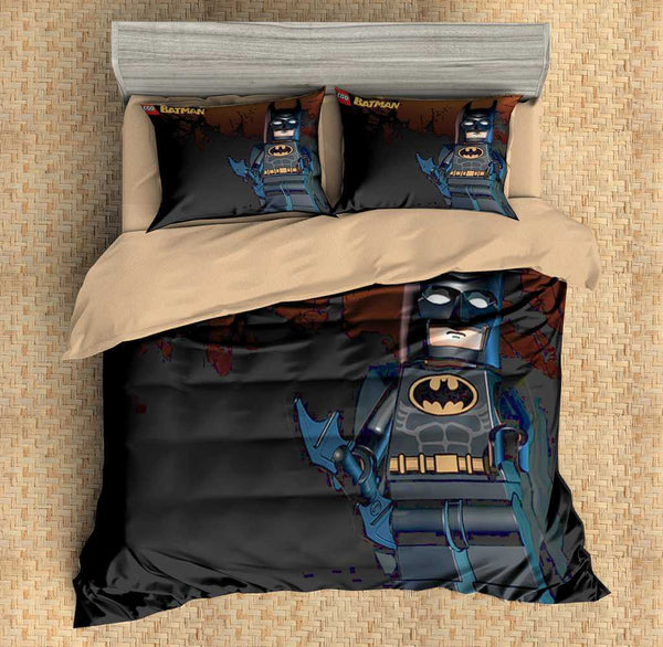 3d Customize Lego Batman Bedding Set Duvet Cover Set Bedroom Set Bedlinen