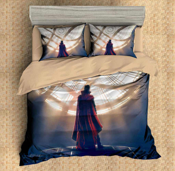 Customize Doctor Strange Duvet Cover Set 4PCS Bedding Set Bedlinen Sheet Pillowcases - Three Lemons Hometextile