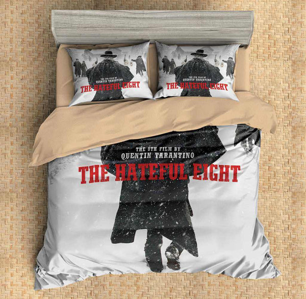 Customize The Hateful Eight Duvet Cover Set Bedding Set Bedroom Set Sheet Pillowcase - Three Lemons Hometextile