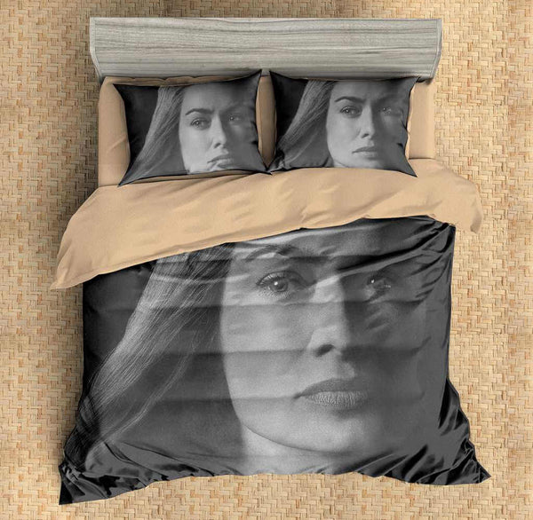 3D Customize Game of Thrones Cersei Lannister Bedding Set Duvet Cover Set Bedroom Set Bedlinen - Three Lemons Hometextile