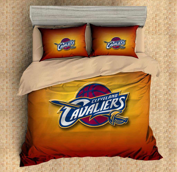 3D Customize Cleveland Cavaliers Bedding Set Duvet Cover Set Bedroom Set Bedlinen