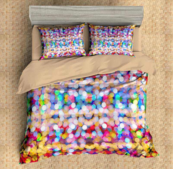 Wonderful 3D Customize Rainbow Bedding Set Duvet Cover Set Bedroom Set  GJ57