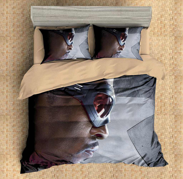 3D Customize Falcon Bedding Set Duvet Cover Set Bedroom Set Bedlinen - Three Lemons Hometextile