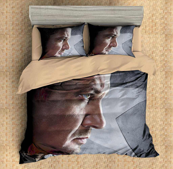 3D Customize Hawkeye Bedding Set Duvet Cover Set Bedroom Set Bedlinen - Three Lemons Hometextile
