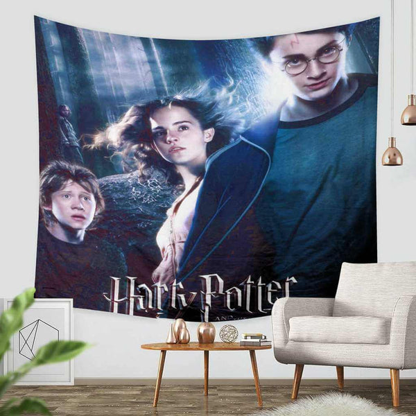 3D Custom Harry Potter Tapestry Throw Wall Hanging Bedspread - Three Lemons Hometextile