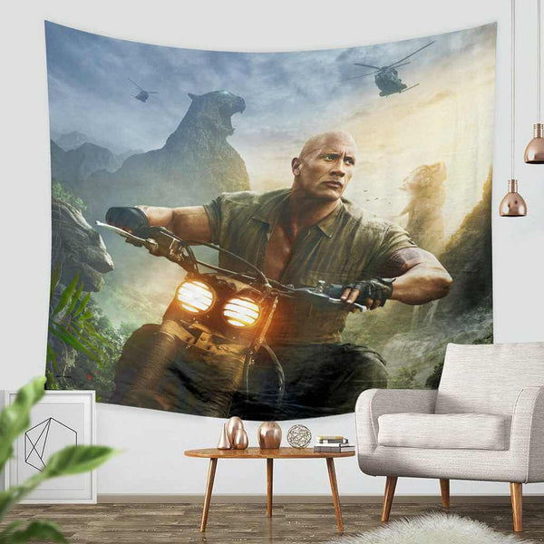 3D Custom Jumanji Tapestry Throw Wall Hanging Bedspread - Three Lemons Hometextile