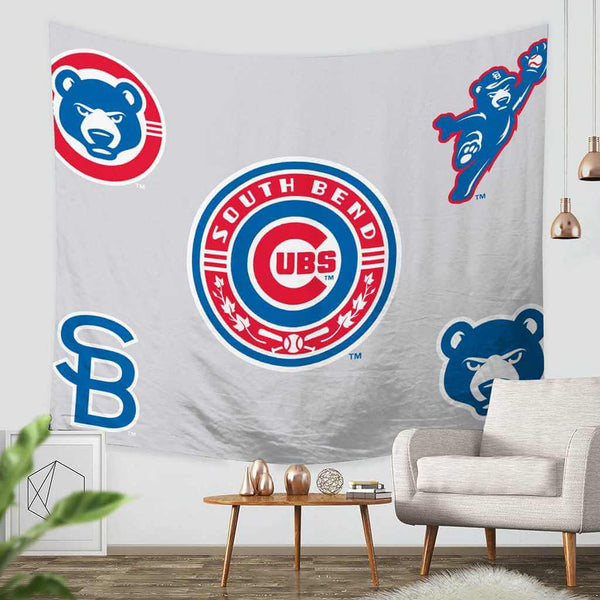 3D Custom Chicago Cubs Tapestry Throw Wall Hanging BedspreadChicago Cubs - Three Lemons Hometextile