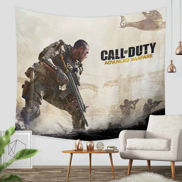 3D Custom Call of Duty Advanced Warfare Tapestry Throw Wall Hanging Bedspread - Three Lemons Hometextile