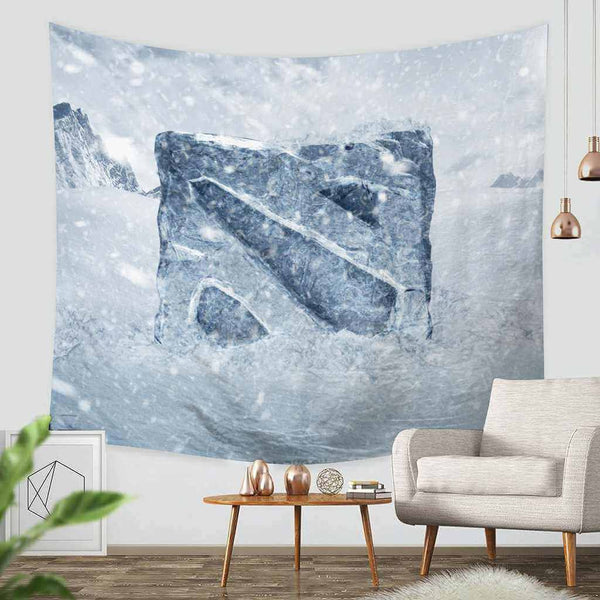 3D Custom Dota2 Tapestry Throw Wall Hanging Bedspread - Three Lemons Hometextile