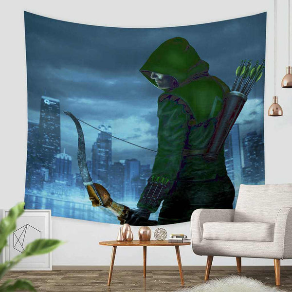 3D Custom Arrow Tapestry Throw Wall Hanging Bedspread - Three Lemons Hometextile