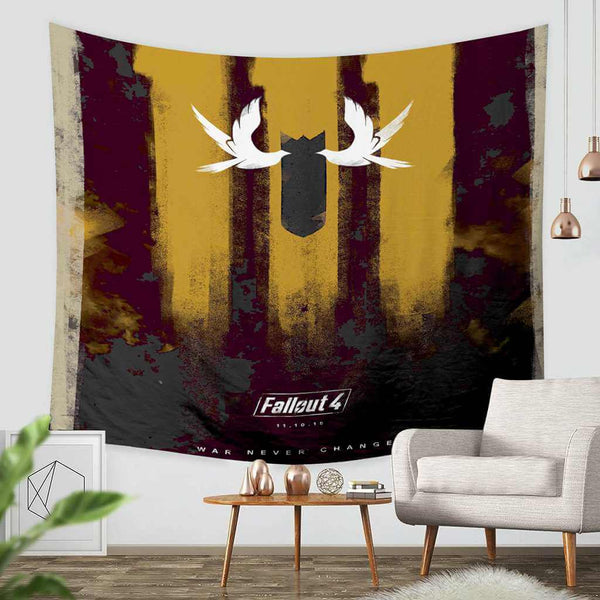 3D Custom Fallout 4 Tapestry Throw Wall Hanging Bedspread