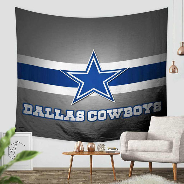 3D Custom Dallas Cowboys Tapestry Throw Wall Hanging Bedspread - Three Lemons Hometextile