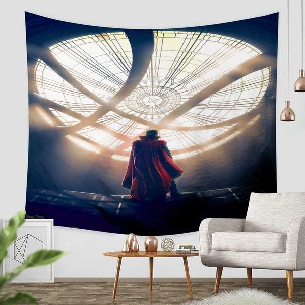 3D Custom Doctor Strange Tapestry Throw Wall Hanging Bedspread - Three Lemons Hometextile