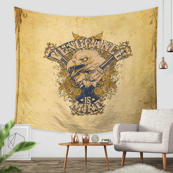 3D Custom Vector Tapestry Throw Wall Hanging Bedspread - Three Lemons Hometextile