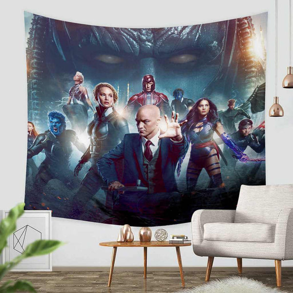 3D Custom X-Men Apocalypse Tapestry Throw Wall Hanging Bedspread - Three Lemons Hometextile