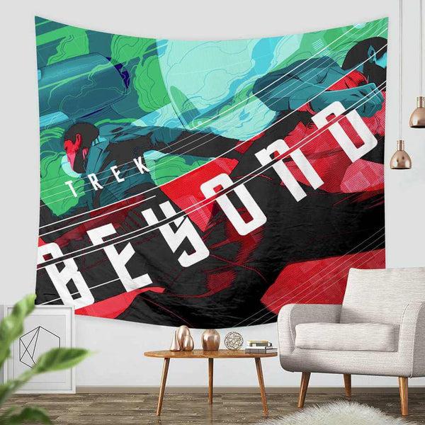 3D Custom Star Trek Beyond Tapestry Throw Wall Hanging Bedspread - Three Lemons Hometextile