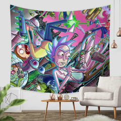 Cartoon Tapestry