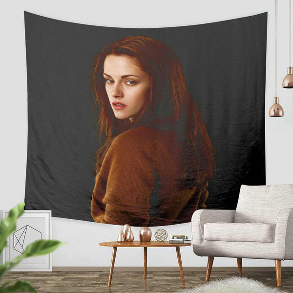 3D Custom Twilight Bella Tapestry Throw Wall Hanging Bedspread - Three Lemons Hometextile