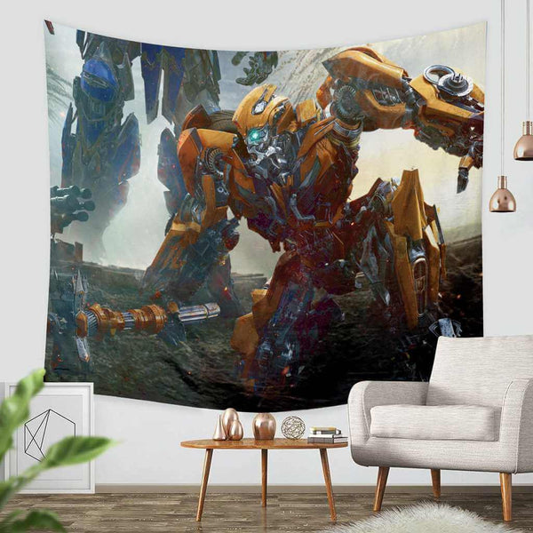 3D Custom Transformers The Last Knight Tapestry Throw Wall Hanging Bedspread - Three Lemons Hometextile