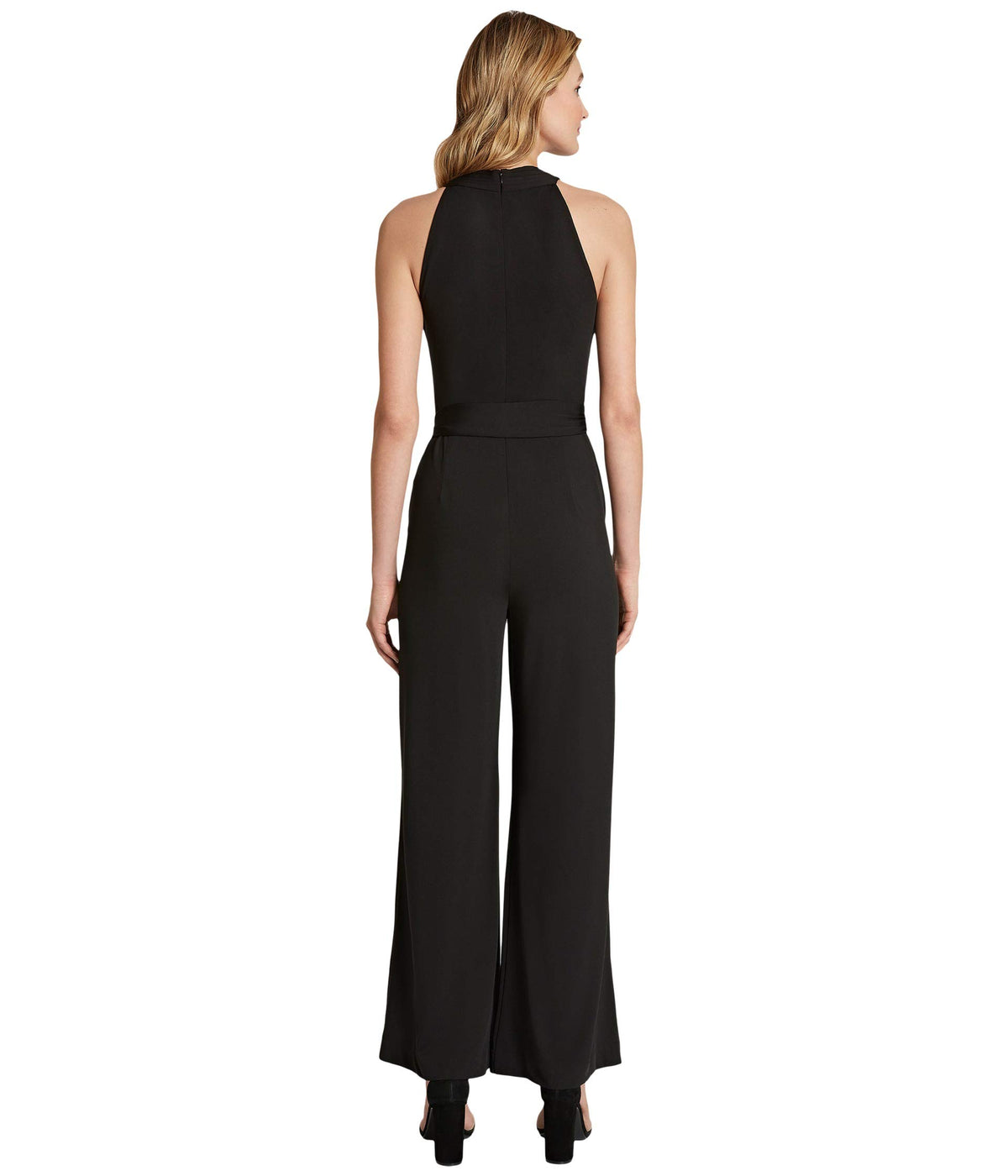 Crisscross Neck Jumpsuit