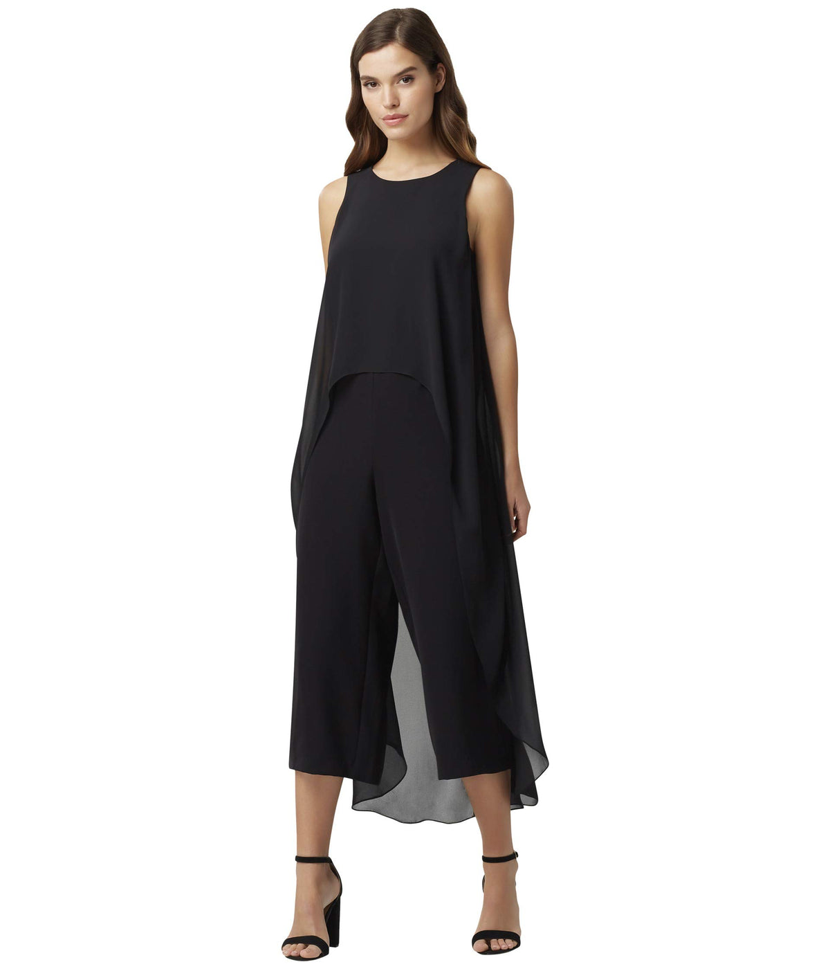 Short Sleeve Fly Away Jumpsuit