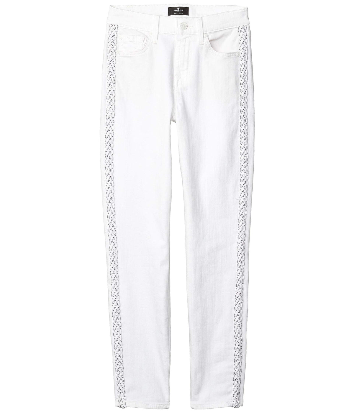 The Ankle Skinny in Clean White