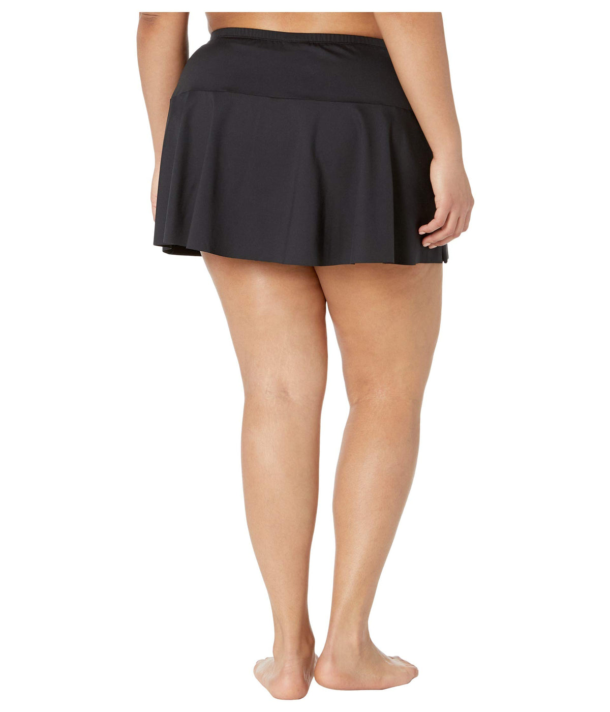 Plus Size Beach Club Solids Skirted Hipster