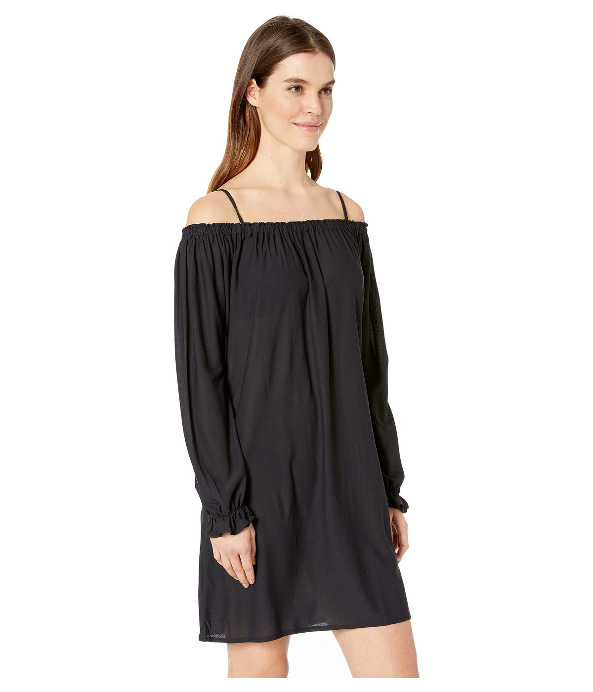 Cosita Buena Cuff Bell Sleeve Shift Dress Cover-Up
