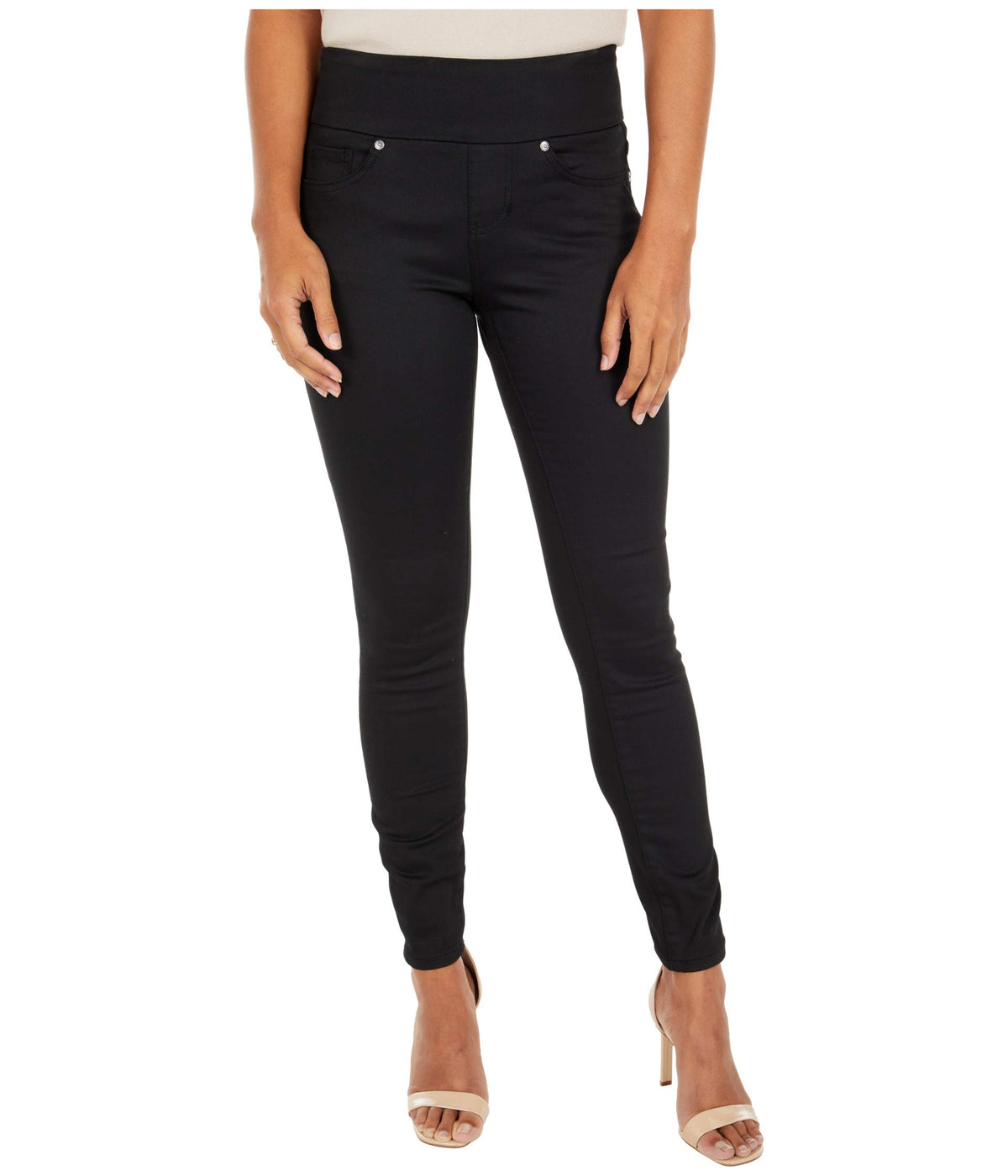 Nora Pull-On Skinny Knit Denim Jean