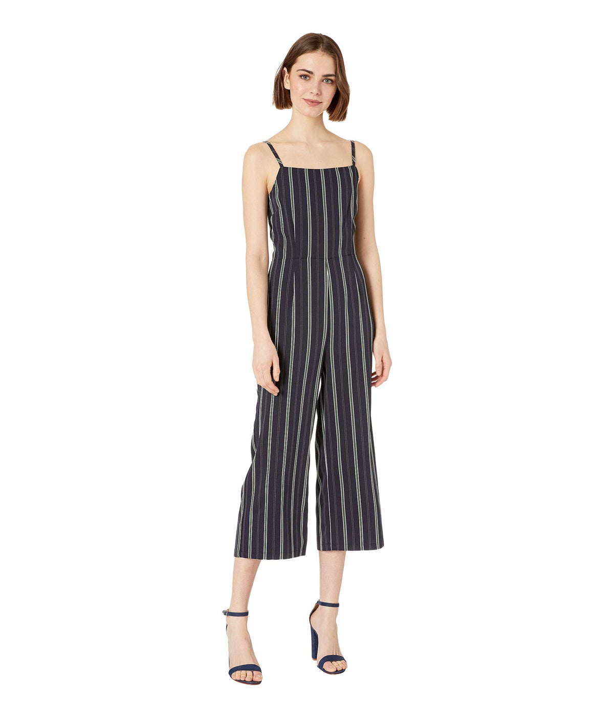 Avery Striped Jumpsuit