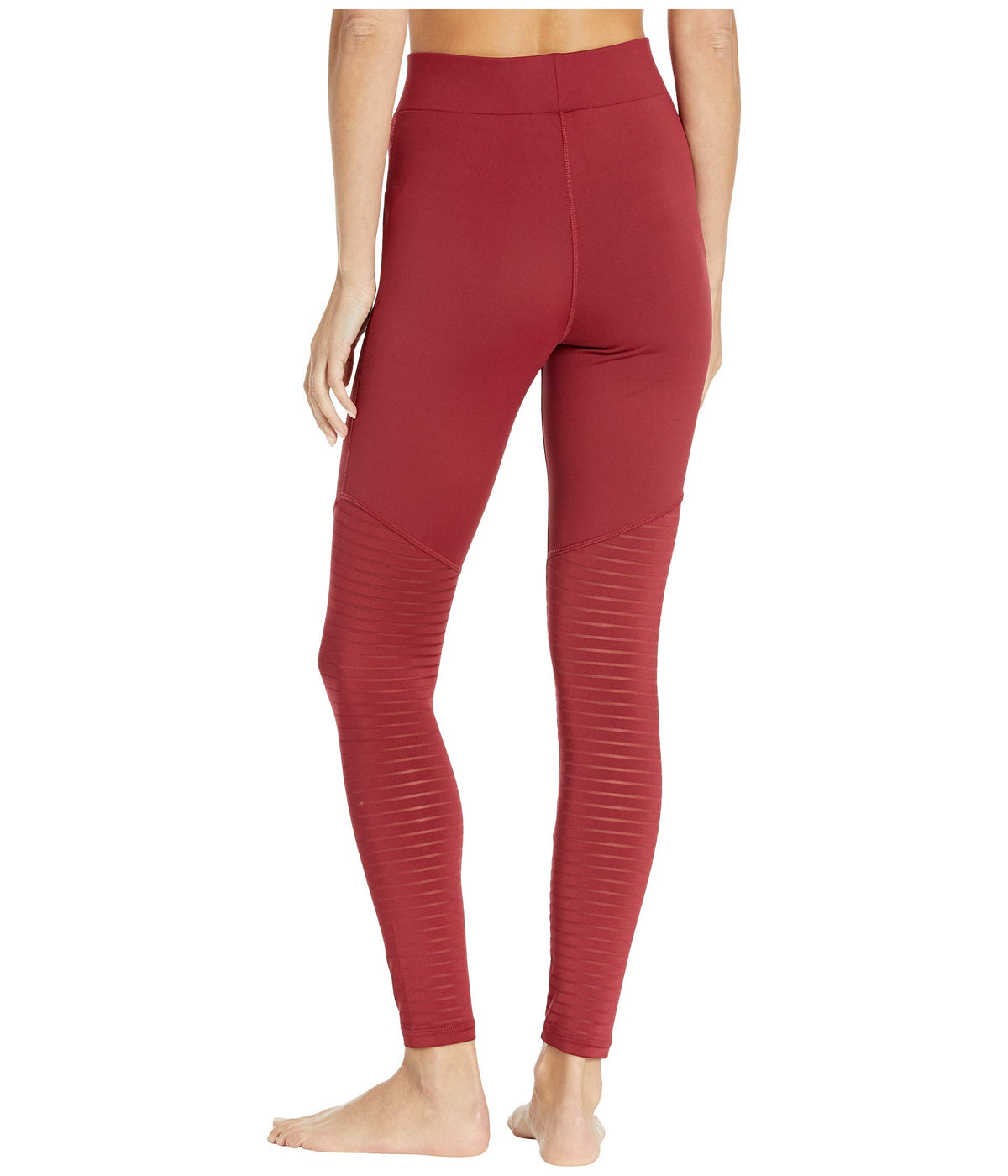 Soni Burnout High-Rise Leggings
