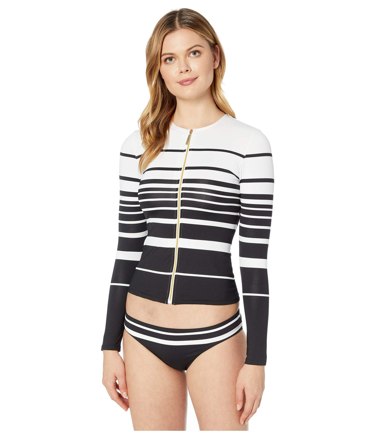 Gradient Stripe Long Sleeve Rashguard
