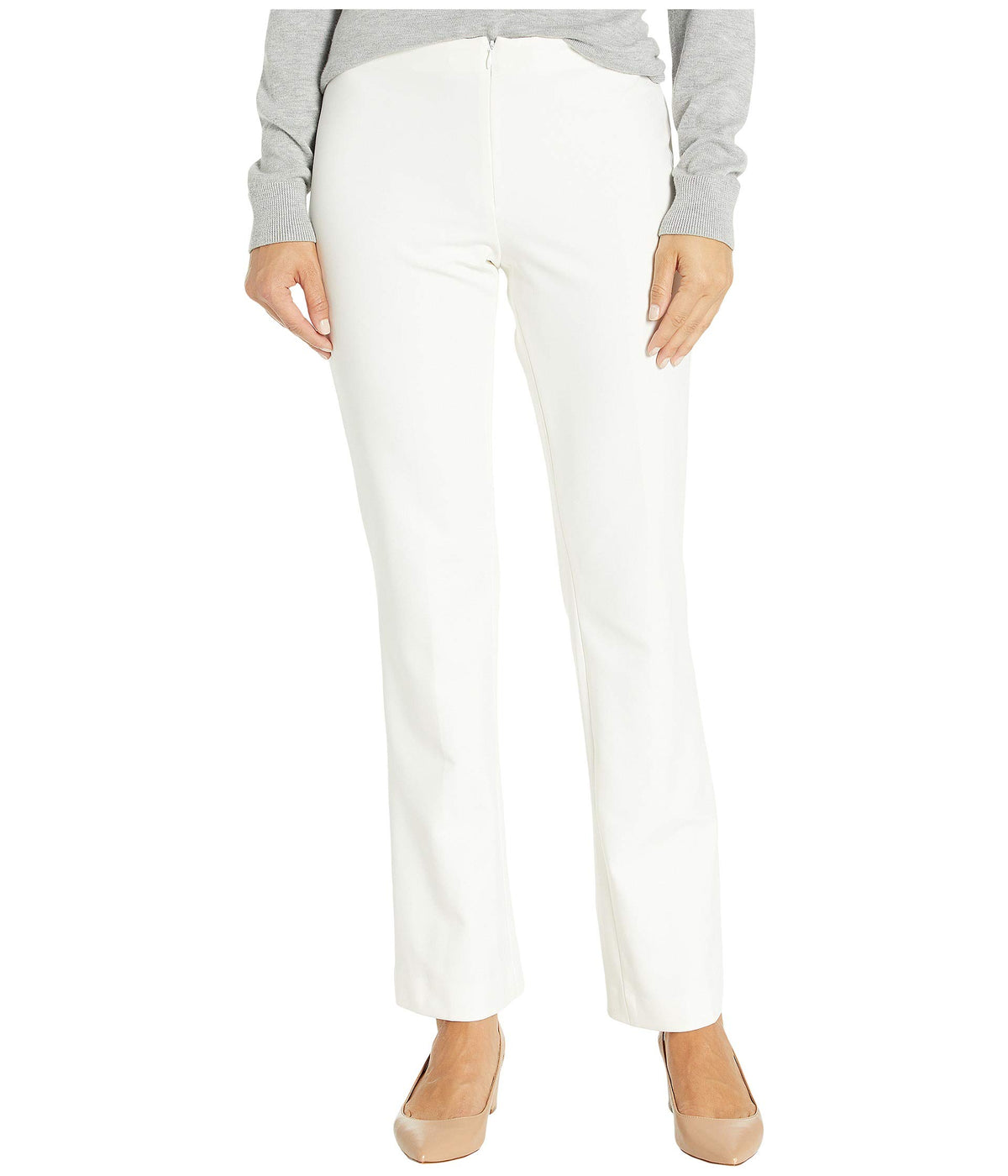 Tribeca Stretch Pants with Invisible Front Zip