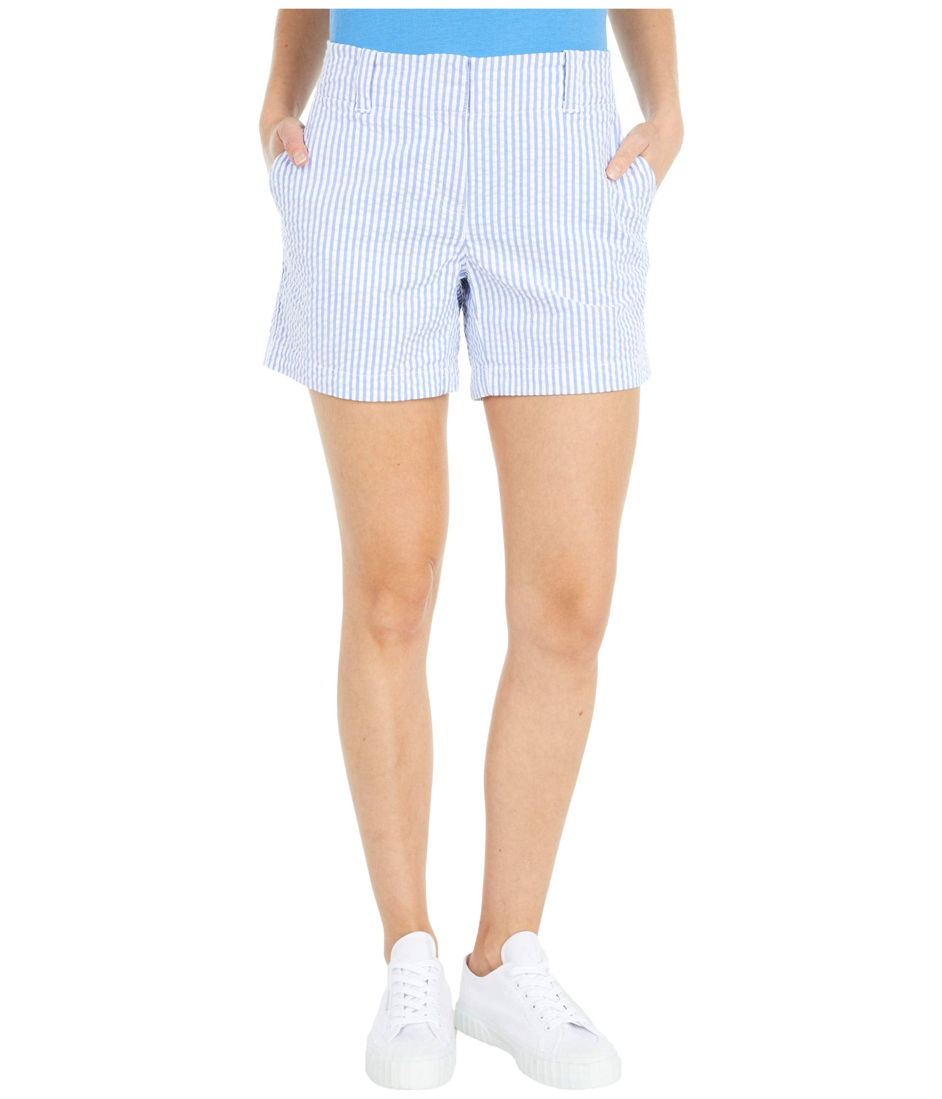 "Seersucker 5"" Everyday Shorts"