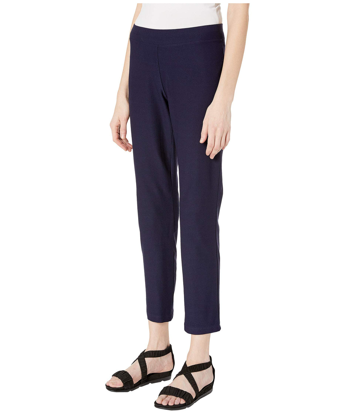 Slim Ankle Pants in Washable Stretch Crepe