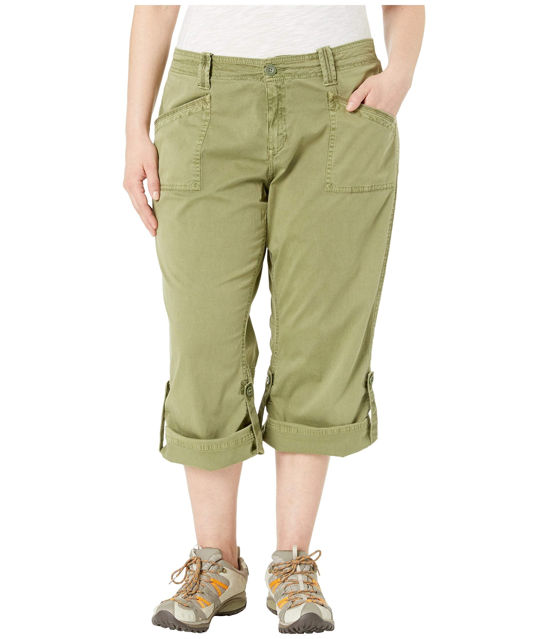 Plus Size Addie V2 Capris