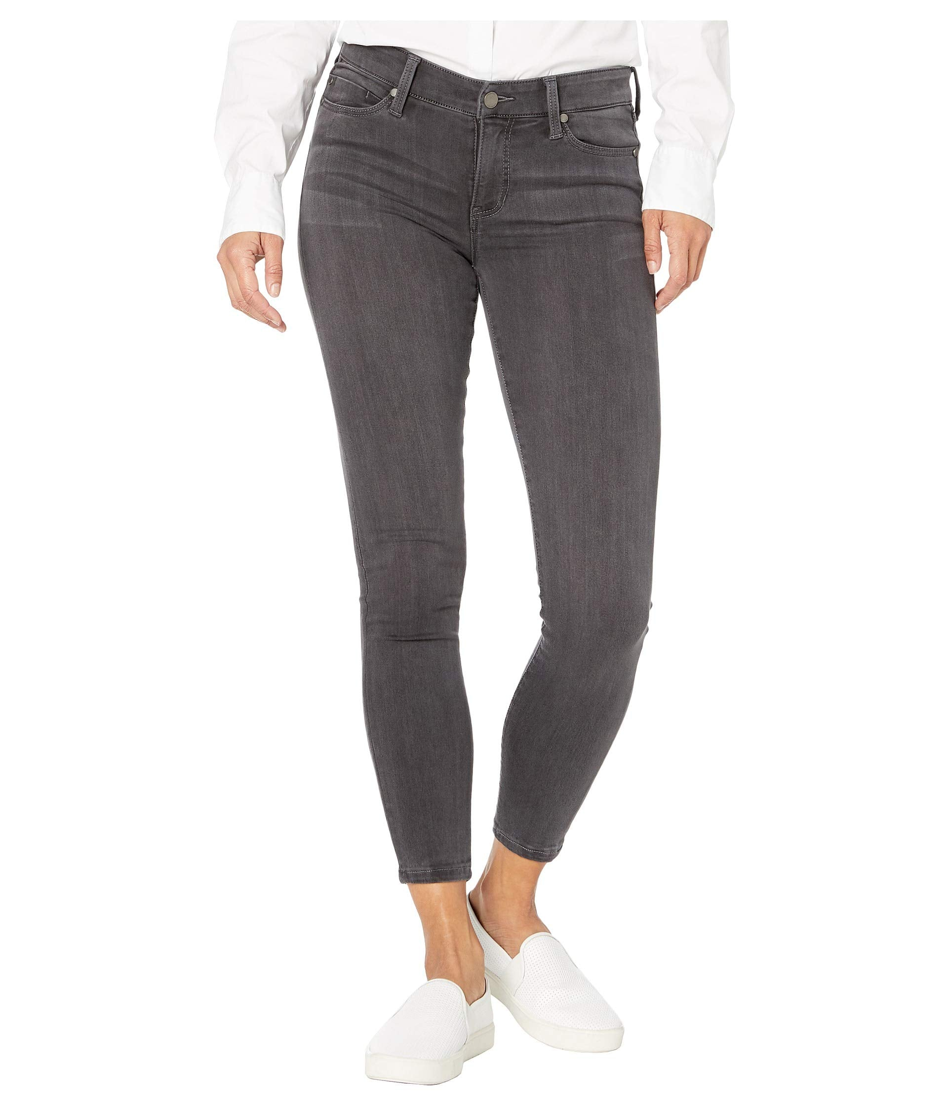 Petite Abby Skinny in Silky Soft Stretch Denim in Meteorite Wash