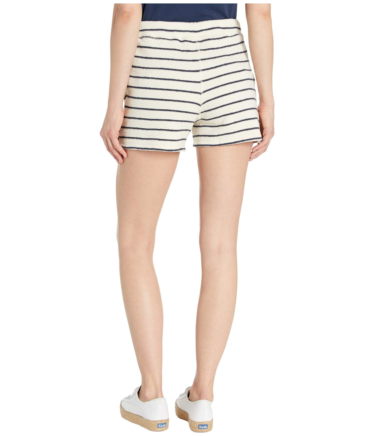 Pull-On Stripe Terry Shorts
