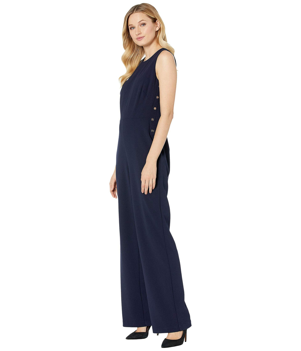 Jersey Wide-Leg Jumpsuit